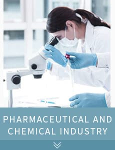 Pharmaceutical and chemical industry
